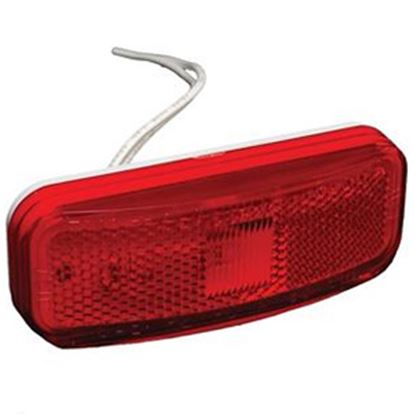 Picture of RV Designer  Red Winnebago Style Clearance Light E385 18-0414