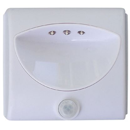 """Picture of Tri-Lynx  Single 4""""Lx4""""Wx1""""H LED Light w/ Switch 00025 18-0852"""