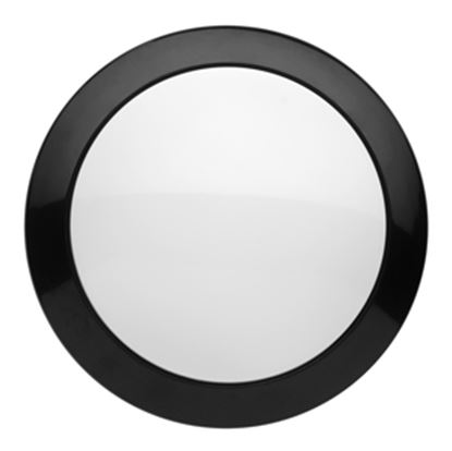 Picture of Starlights  Black Bezel Surface Mount 330LM LED Round Interior Light 016-SON 102 18-1160