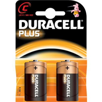 Picture of Duracell  2-Pack C-Type; Alkaline Battery DURC 18-1253