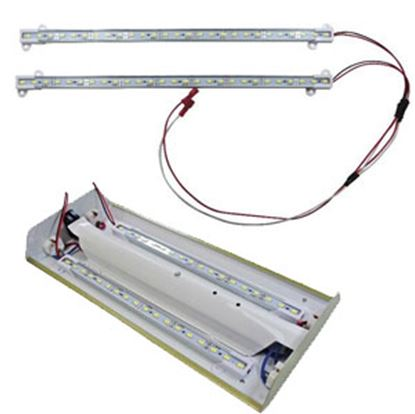 "Picture of Diamond Group  2-Pack Daylight White 12""L LED Strip Interior Light DG65101VP 18-1485"