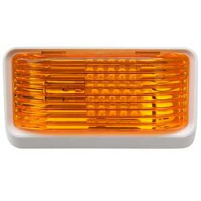 Picture of Diamond Group  Amber Lens Porch Light w/o Switch DG52726VP 18-2358