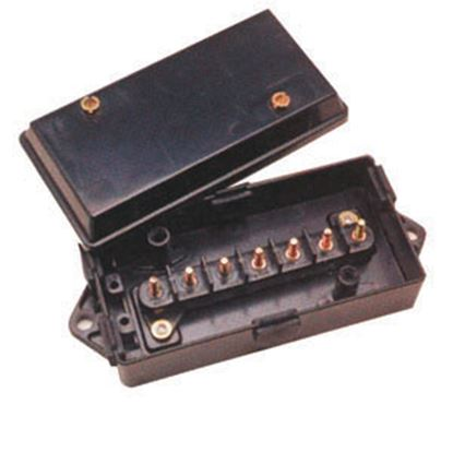 """Picture of Pollak  8.06""""L x 3.2""""W x 2.09""""H ABS Plastic Circuit Breaker Junction Box 52-259 19-0109"""