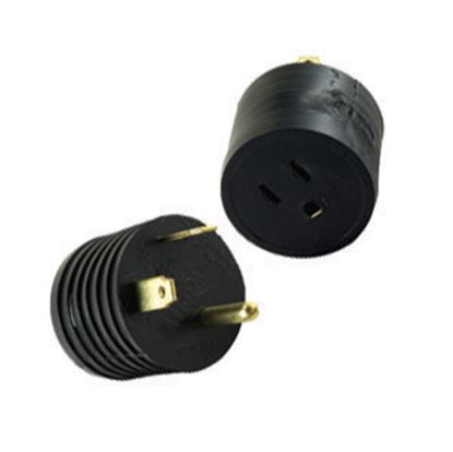 Picture of JR Products  30M/15F Reverse Power Cord Adapter M-3026-A 19-0370