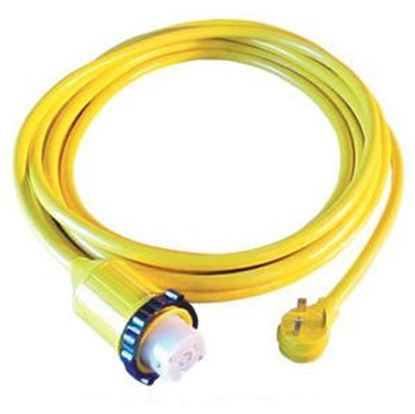 Picture of Marinco  25' 50A/30A Locking Power Cord Adapter 124ARV-25 19-0440