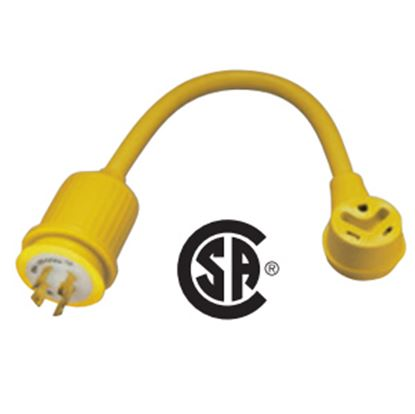 Picture of Marinco  30A Pigtail Locking Power Cord Adapter 172ARV 19-0478
