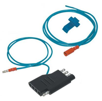 Picture of Hopkins Plug In Simple (TM) 4-Flat To 5-Flat Trailer Wiring Connector Adapter 47515 19-0866