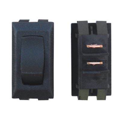 Picture of Diamond Group  Black 125V/ 13A SPDT Rocker Switch For Monitor Dash Panel DGG111UVP 19-2077