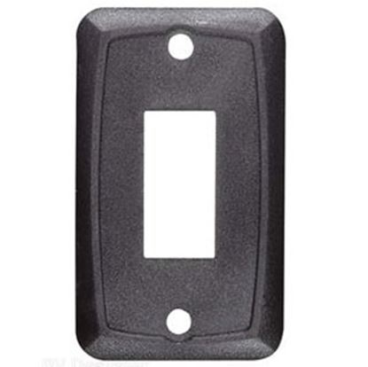 Picture of RV Designer  Black Single Opening Multi Purpose Switch Faceplate S385 19-2465