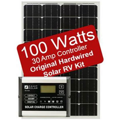 Picture of Zamp Solar  100W 5.6A Flexible Solar Kit  19-2833