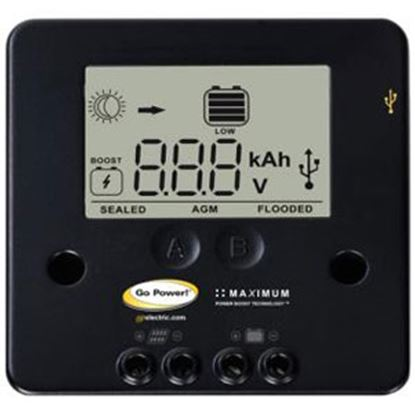 Picture of GoPower!  Digital 30W 10A Battery Charger Controller for Solar 12 Volt GP-PWM-10 19-2971