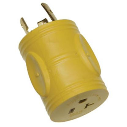 """Picture of Arcon  18"""" 30A Female Pigtail Power Cord Adapter 11827 19-3353"""