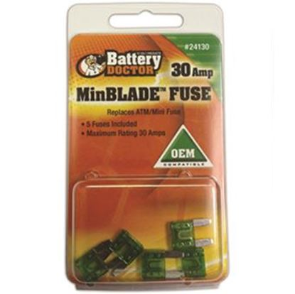 Picture of Battery Doctor  20A ATM/ Mini Yellow Blade Fuse 24120 19-3582
