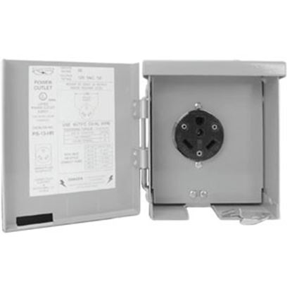 Picture of Parallax  120V/ 30A Receptacle PG-U013 19-4283
