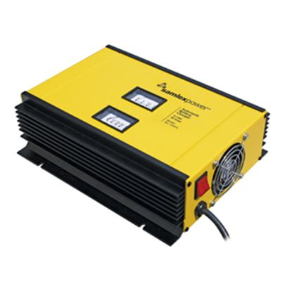 Picture of Samlex Solar  120/230V 2/3-Stage 50A 2-Bank Battery Charger SEC-1250UL 19-4735