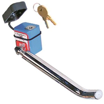 """Picture of Roadmaster  5/8""""D Trailer Hitch Pin w/Keyed Lock 315 20-0284"""