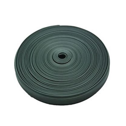 "Picture of AP Products  Black Plastic 7/8""W X 25'L Trim Molding Insert 011-351 20-1372"