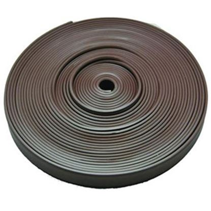 "Picture of AP Products  Brown Plastic 5/8""W X 25'L Trim Molding Insert 011-366 20-1395"