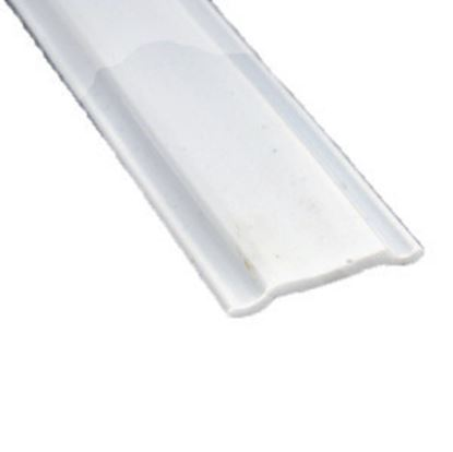 """Picture of AP Products  Colonial White Plastic 5/8""""W X 25'L Trim Molding Insert 011-368 20-1397"""