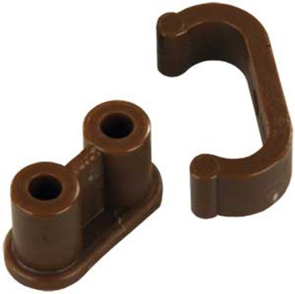 Picture of JR Products  6-Pack Nylon Clip Barrel Catch 70195 20-1958