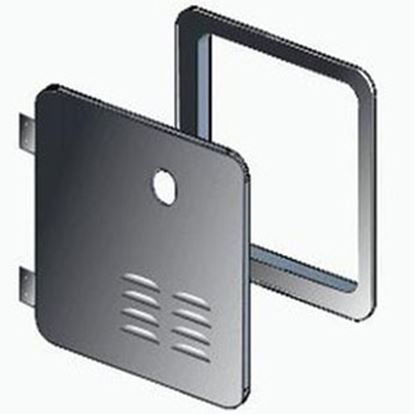 Picture of Girard  Black Water Heater Access Door For Atwood 2GWHDA6B 20-2082