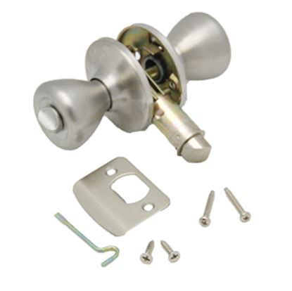 Picture of AP Products  SS Knob Entry Door Lock 013-202-SS 20-5035
