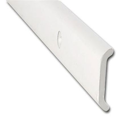 "Picture of AP Products  1-1/32""W x 1/6""T x 16'L Polar White Aluminum Flat Trim 021-87201-16 20-6998"