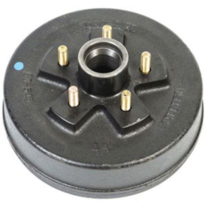 "Picture of Husky Towing  5 Studs 7"" Hub & Drum 30792 21-0124"