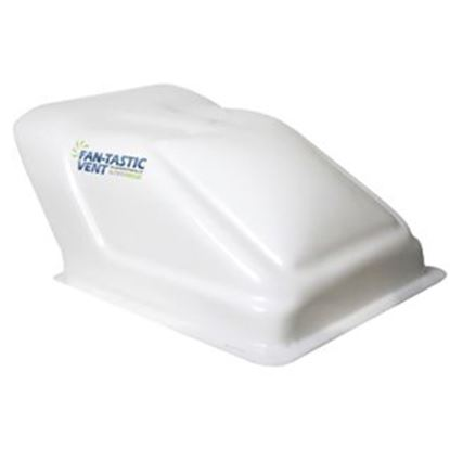 """Picture of Fan-Tastic Vent Ultra Breeze Exterior Dome White Translucent Roof Cover For 14"""" X 14"""" Vents U1500WH 22-0065"""