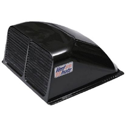"""Picture of Ventmate  Exterior Dome Type Black Roof Cover For 14"""" X 14"""" Vents 67313 22-0224"""