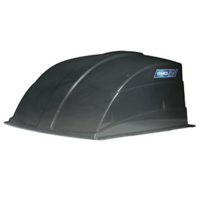 """Picture of Camco  Exterior Dome Smoke 1 Side Vented Roof Cover For 14"""" X 14"""" Vents 40453 22-0258"""