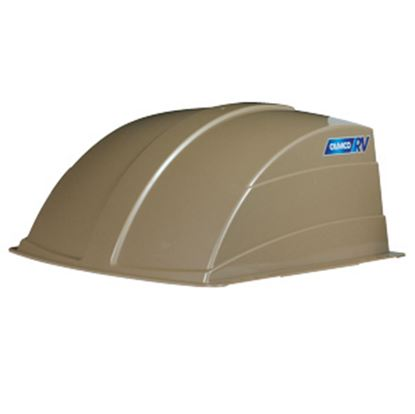 """Picture of Camco  Exterior Dome Type Champagne Roof Cover For 14"""" X 14"""" Vents 40463 22-0259"""