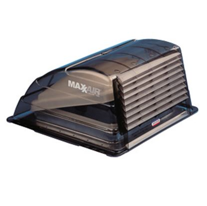 """Picture of MaxxAir  Exterior Dome Type Smoke Roof Cover For 14"""" X 14"""" Vents 00-933067 22-0371"""