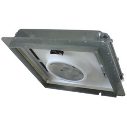 "Picture of Fan-Tastic Vent  Smoke 14""x14"" Roof Vent w/Fan 800501 22-2242"
