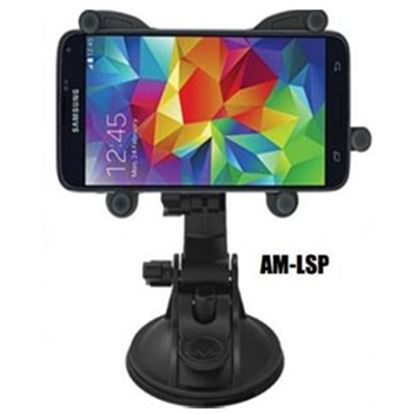 Picture of Leisure Time MAXX Mount Suction Cup Mount Phone Holder for iPhone/Large Smartphone AM-LSP 24-0067