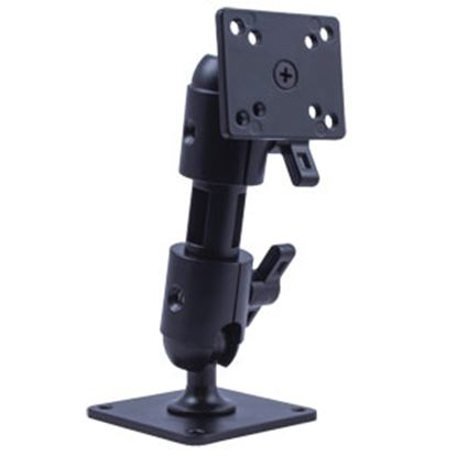 """Picture of Voyager  Matte Black Aluminum 6"""" Video Monitor Mount For VOYAGER VOSHD6MNT 24-3876"""