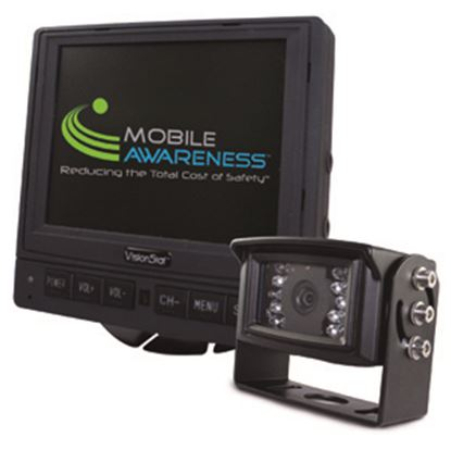 """Picture of Mobile Awareness VisionStat (R) Single Camera 5.6"""" Backup Camera System MA1126 24-5091"""