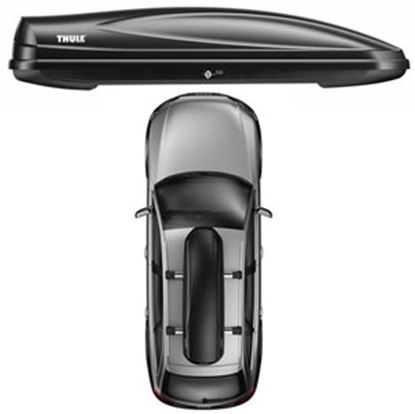 Picture of Thule Force Alpine Matte Black 12CF Dual Side Opening Cargo Carrier 623 25-2678