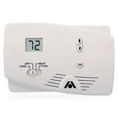Picture of Dometic  White 2-Stage Heat/Cool Digital Wall Thermostat 38535 41-1598