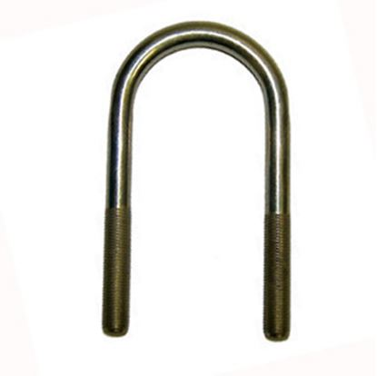 "Picture of AP Products  3/8"" - 24 x 4.00"" U-Bolt 014-139737 46-6872"