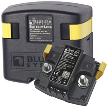 Picture of Blue Sea BatteryLink (TM) 12/24V 120A Stud Mount Battery Voltage Sensing Relay 7611 69-0585