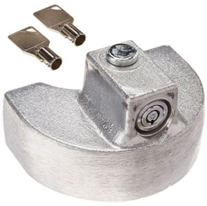 "Picture of Blaylock  2"" Aluminum Push Button Trailer Coupler Lock TL-36 69-0765"
