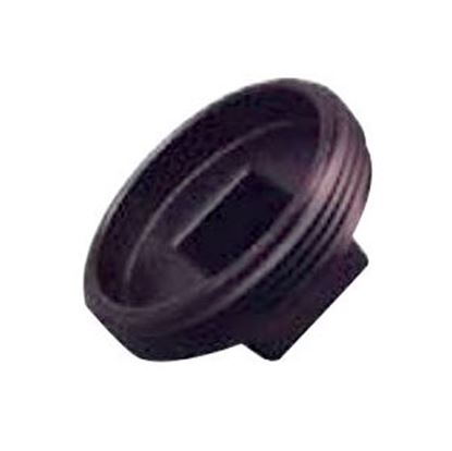 """Picture of Lasalle Bristol  Black ABS 1-1/4"""" MPT Cleanout Plug 633050 69-6015"""