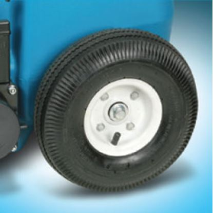 """Picture of Barker  10""""/6"""" Diam Portable Waste Tank Wheel Axle for Tote-Along 32347 69-8462"""