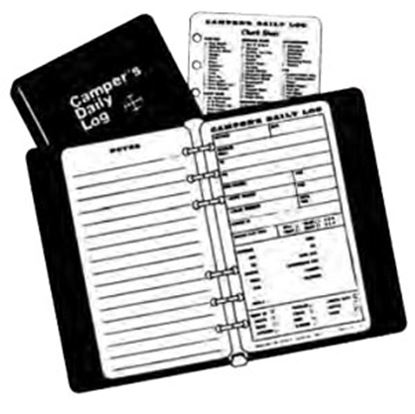 Picture of Camper's Daily Log  Campers Log Refill Book CDLR 69-8597