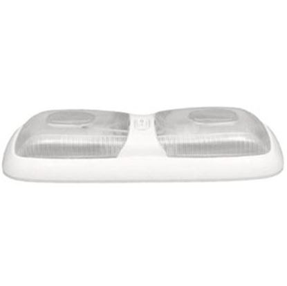 Picture of Gustafson  Clear Lens Double Euro Style Dome Light GSAM4002 69-9091