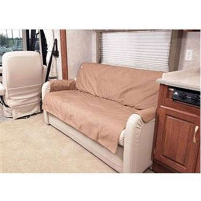 """Picture of CoverCraft Canine Covers (R) SofaSaver Tan 60""""x27"""" RV Sofa Cover SRS003TN 71-2665"""