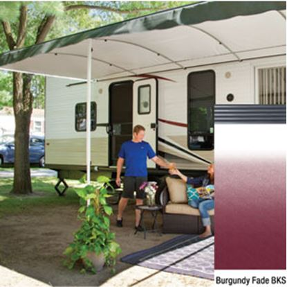 "Picture of Lippert Solera Destination 16'L X 9' 8""Ext Spring Assist Patio Awning w/Black Solera Shield V000334859 90-2164"