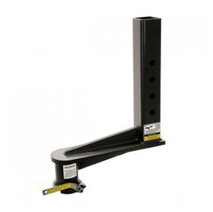 """Picture of PopUp Towing  24K 16"""" Offset Adjustable Square 2-5/16"""" Ball Gooseneck Coupler  94-2577"""