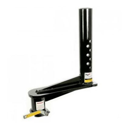 """Picture of PopUp Towing  24K 16"""" Offset Adjustable Round 2-5/16"""" Ball Gooseneck Coupler  94-9795"""